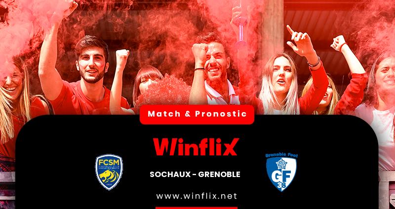 Pronostic Sochaux - Grenoble Foot 38 du 18/12/2020 : notre prédiction