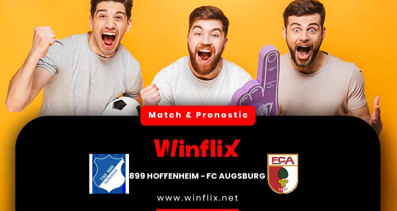 Pronostic Hoffenheim - Augsbourg du 07/12/2020 : notre prédiction
