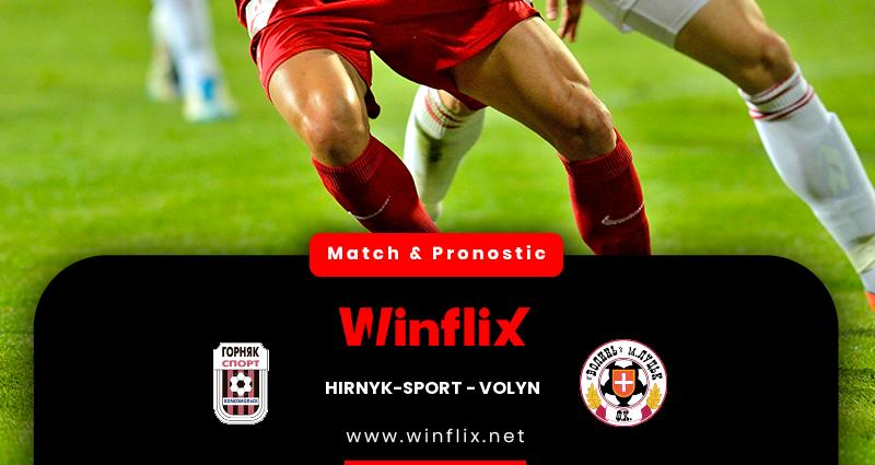 Pronostic Hirnyk-Sport - Volyn du 05/11/2020 : notre prédiction