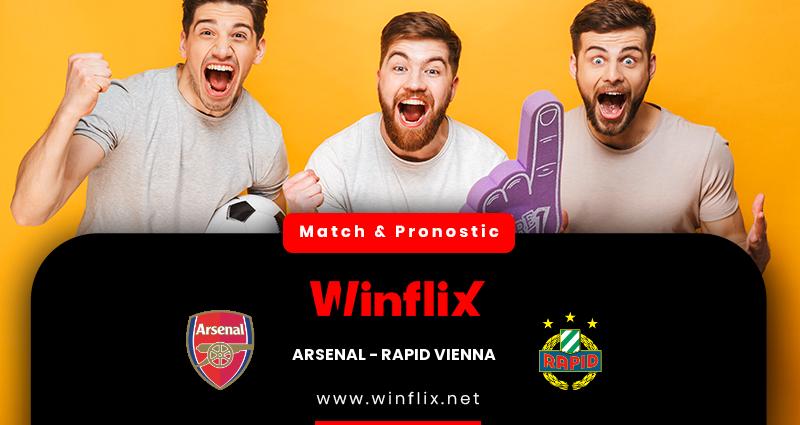 Pronostic Arsenal - Rapid Vienna du 03/12/2020 : notre prédiction