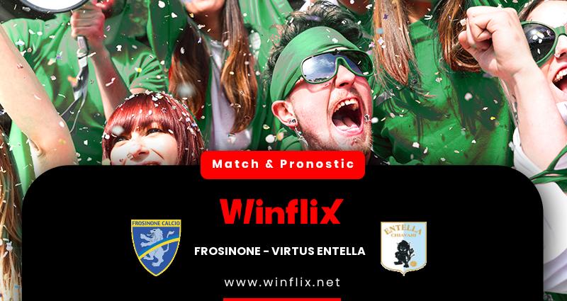 Pronostic Frosinone - Virtus Entella du 20/10/2020 : notre prédiction