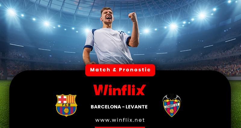 Pronostic Barcelone - Levante du 13/12/2020 : notre prédiction