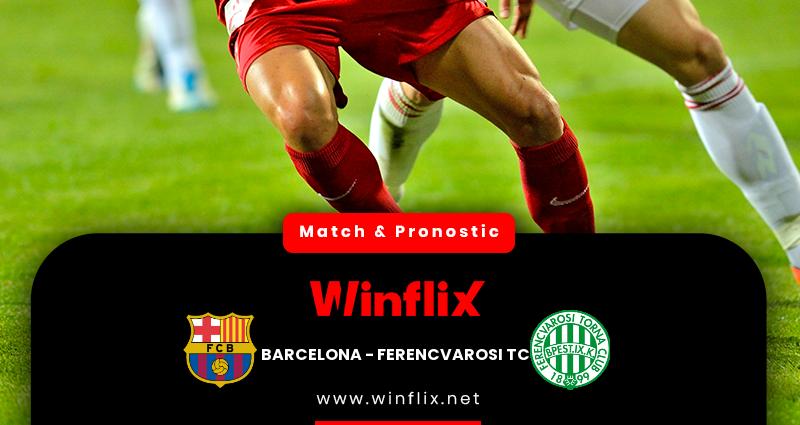 Pronostic Barcelone - Ferencvarosi TC du 20/10/2020 : notre prédiction