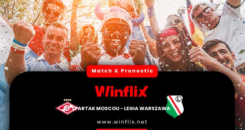 Pronostic Spartak Moscou - Legia Warszawa du 15/09/2021 : notre prédiction