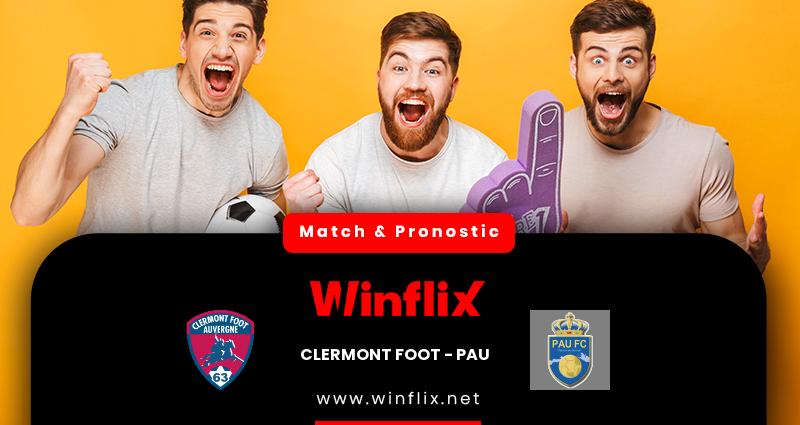 Pronostic Clermont Foot - PAU du 05/12/2020 : notre prédiction